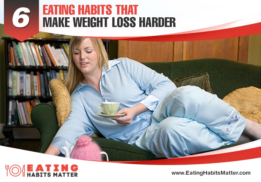 6 bad eating habits to avoid